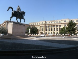 National Art Museum - former palace in Bucharest, Romania