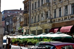 Old Town Bucharest, Romania