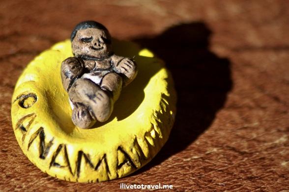 Nativity scene from Panama - baby Jesus, Christmas