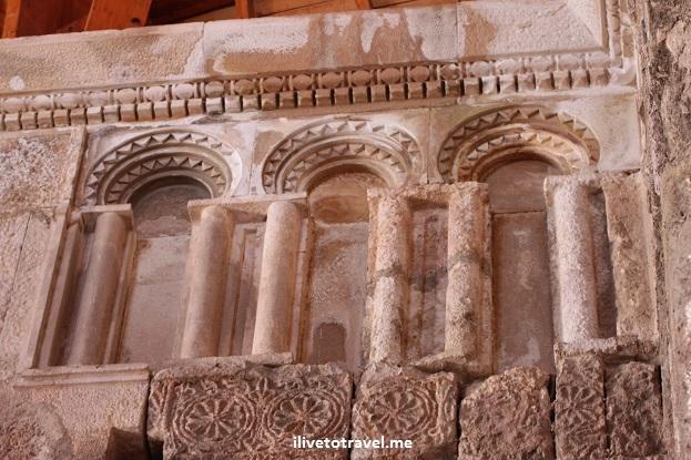 """Architectural detail"" amman jordan umayyad governor palace citadel Canon EOS Rebe,"