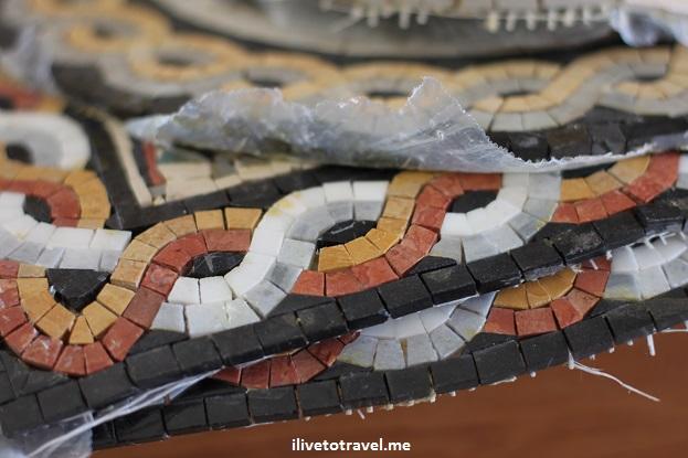 Mosaic art Jordan