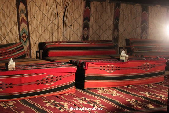 """Wadi Rum"" desert captain camp dining area food adventure outdoors Jordan"