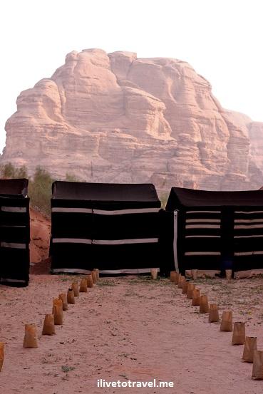 Captain desert camp in the Wadi Rum, Jordan
