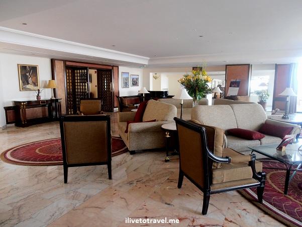 Lobby of Petra Marriott in Jordan