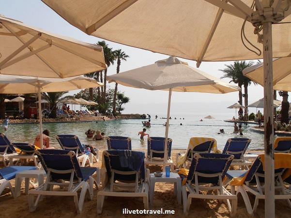 Pools Movenpick hotel resort Dead Sea Jordan Olympus