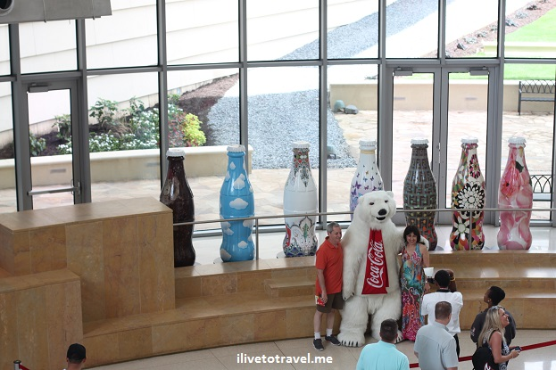 Coca-Cola, Coke, World of Coca-Cola, museum, polar bear, Atlanta, photo, Canon EOS Rebel