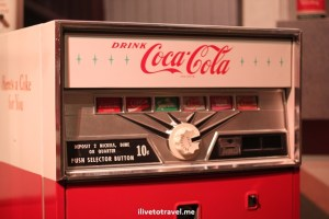 Coca-Cola, Coke, museum, vending machine, vintage, history, Canon EOS Rebel, Atlanta