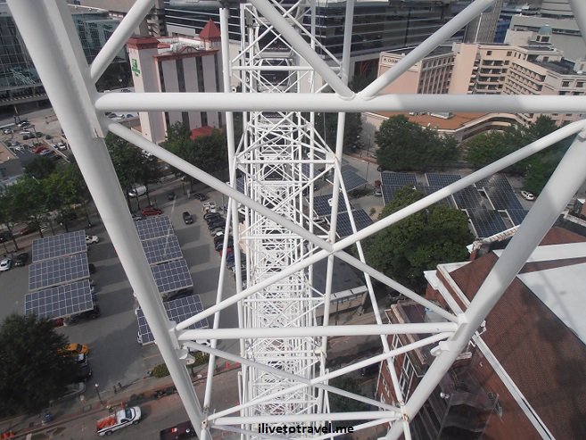 Skyview, Atlanta, downtown, Ferris wheel, views, Olympus, ride, thrill