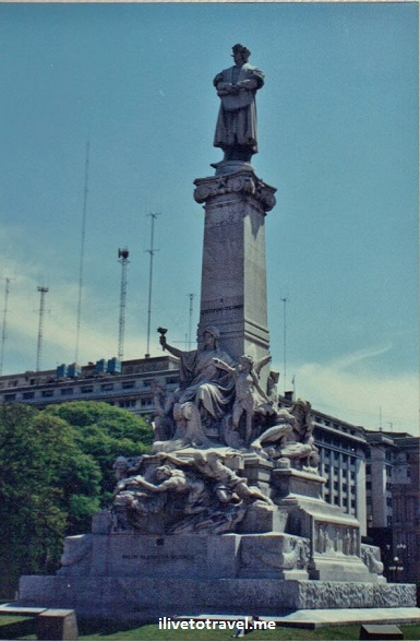 Buenos Aires, Argentina, city, monuments, architecture, Canon EOS Rebel, Christopher Columbus
