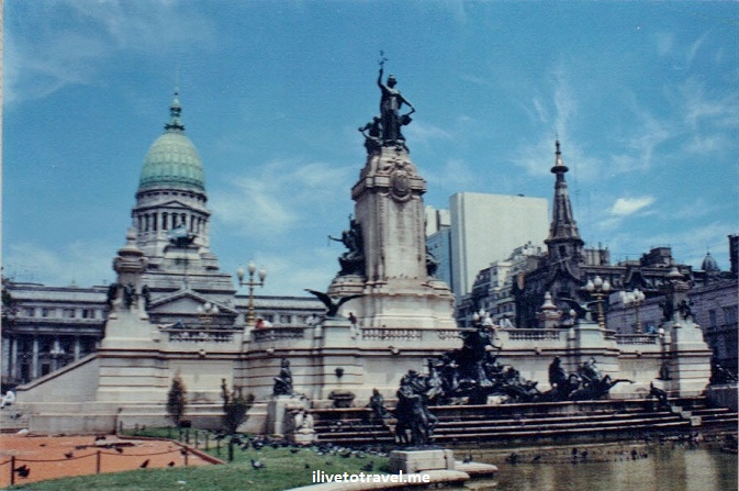 Buenos Aires, Argentina, city, monuments, architecture, Canon EOS Rebel, National Congress