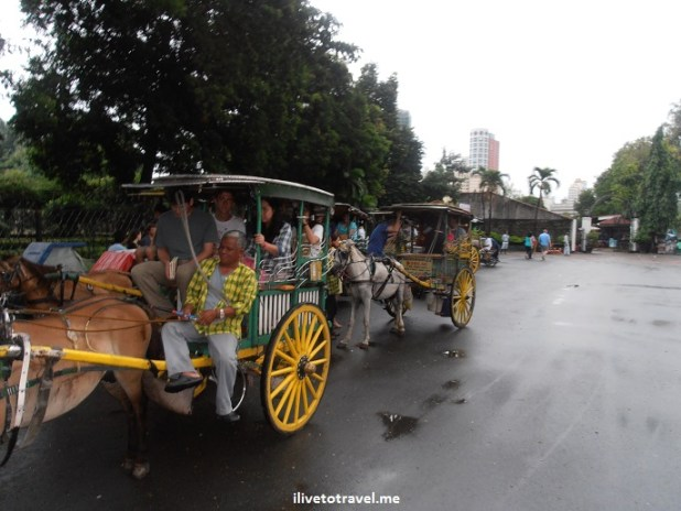 Calesa, Manila, Philippines, Intramuros, transportation, local, travel