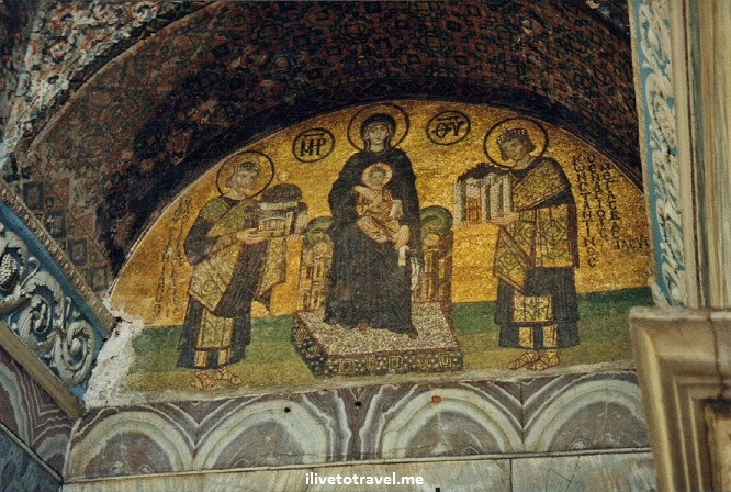 Istanbul, Turkey, Hagia Sophia, church, mosque, museum, Justinian, mosaic, photo, Canon EOS Rebel, travel, history, architecture