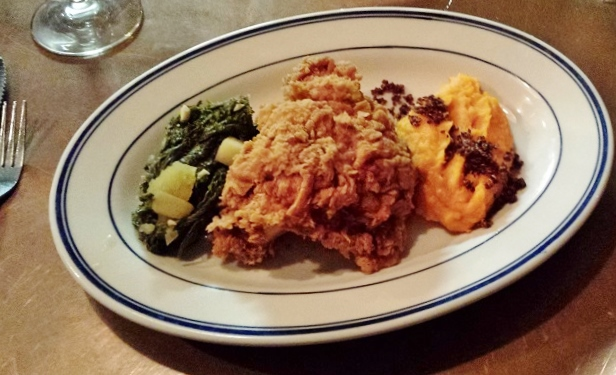 Atlanta, foodie, food, restaurant, fried chicken, mustard green, sweet potatoes, Buttermilk Kitchen