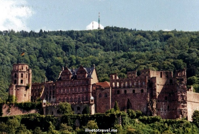 Heidelberg Castle, ruins, architecture, Heidelberg, Germany, architecture, travel, photo, Canon EOS Rebel