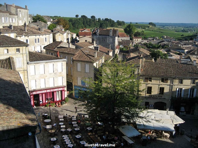 St. Emilion, Bordeaux, French town, France, view , photo, Canon EOS Rebel
