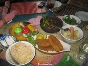 Trinindad, food, fish, rice, tropical, travel