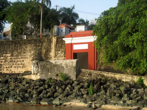Puerta de San Juan, San Juan, Puerto Rico, city walls, fortifications