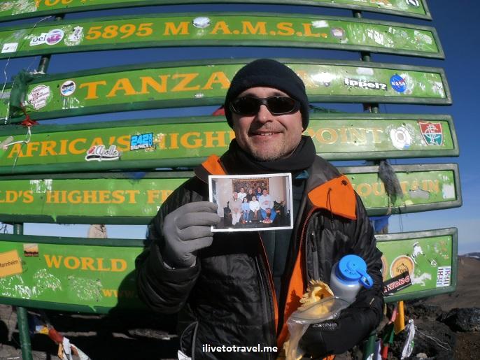 Kilimanjaro, hiking, hiker, Uhuru Peak, climbing, Tanzania, Africa, vista, view, Olympus, travel, photo