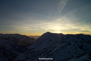sunset, Alta, Utah, ski, mountains, beautiful, scenery, photo