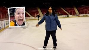 ice skating, Herb Brooks Arena, Lake Placid