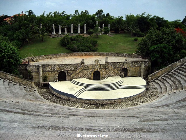 Altos de Chavon, Dominican Republic, La Romana, travel, amphitheater