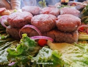 bison burger, Generations, Lake Placid, Himalayan salt block, foodie, cooking