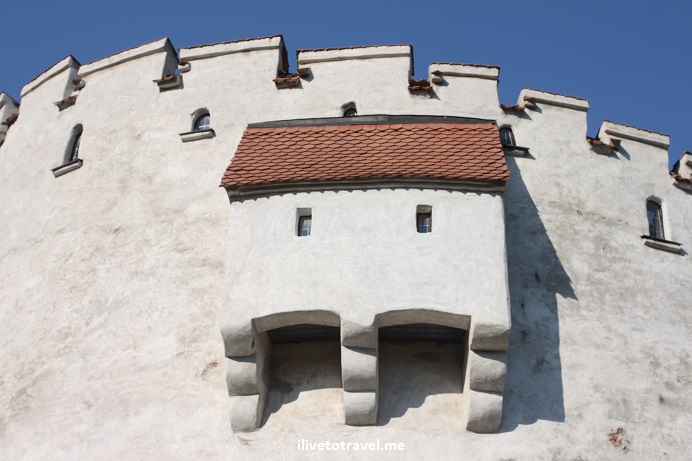 Brașov, Romania, White Tower, fortification, history