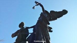 Statue, Gate City, Atlanta, Piedmont Park, southern history, travel, photo