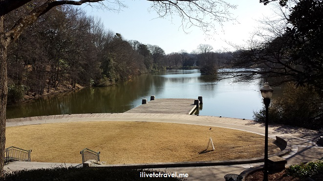 Piedmont Park, Atlanta, Midtown, photo, lake