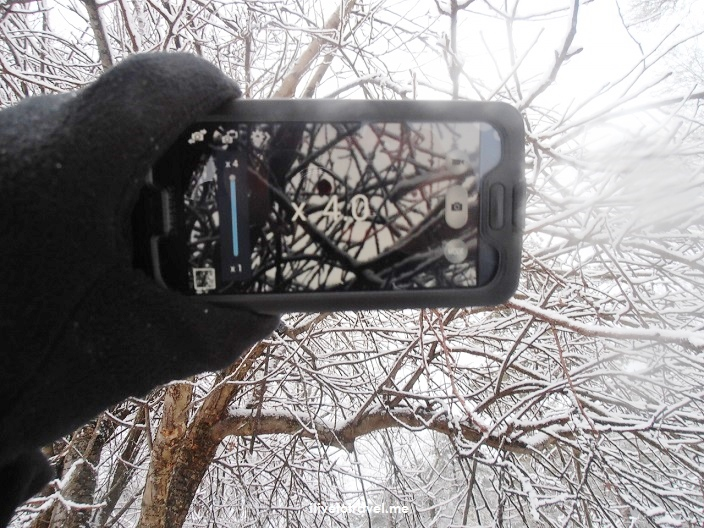 Samsung Galaxy, photo, camera, winter, snow, Atlanta, Olympus