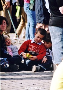 Easter Mass, The Vatican, St. Peter's Square, faithful, travel, photo, religion, kids