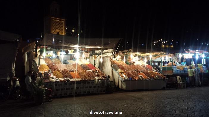 spices, Morocco, food stand, medina, Djemaa el Fna, Jemaa el-Fnaa, food stall