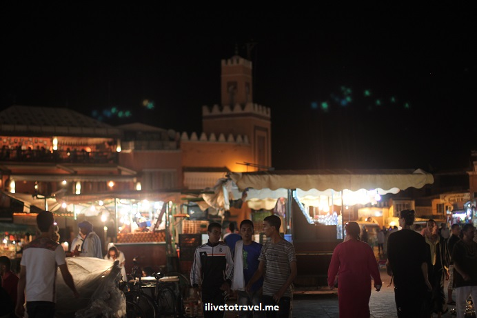 Djema el-Fna, Morocco, food stand, medina, Djemaa el Fna, Jemaa el-Fnaa, Canon EOS Rebel