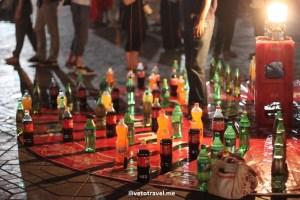 drinks, entertainment, Morocco, food stand, medina, Djemaa el Fna, Jemaa el-Fnaa, Canon EOS Rebel