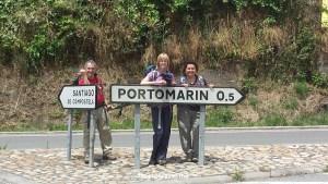 Portomarin, Camino, Santiago, street scene, photo, travel, Samsung Galaxy, bridge