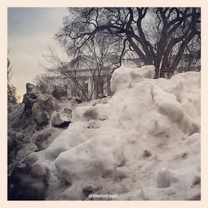 White House, Washington, DC, snow, winter, photo, travel