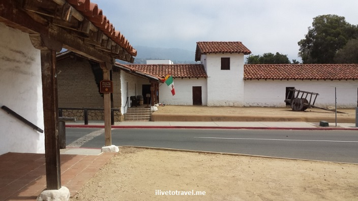 Presidio, Santa Barbara, California, history, Spanish settlement, architecture, photo, travel, Samsung Galaxy