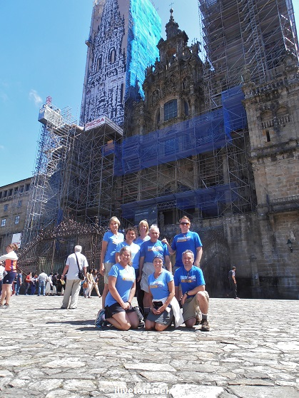 Cathedral, Santiago de Compostela, Plaza del Obradoiro, Camino, The Way, pilgrimage, Spain, España, Espagne, travel, trekking, hiking, Trekking for Kids, photo, Olympus
