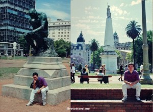 tourist, Buenos Aires, monuments, travel, photo