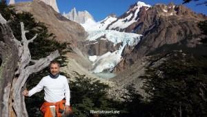 Patagonia, El Chaltén, Argentina, Fitz Roy, Piedras Blancas, glacier