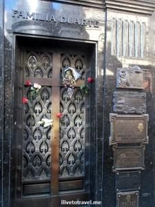 Evita, Eva, Peron, Argentina, Buenos Aires, Duarte, Recoleta, cemetery, travel, photo, Olympus