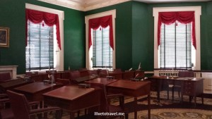 Senate Chamber, Congress Hall, Independence Hall, Philadelphia, US history, travel, museum, photo