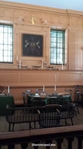 Court room, Congress Hall, Independence Hall, Philadelphia, US history, travel, museum, photo