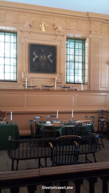 Court room, Congress Hall, Independence Hall, Philadelphia, US history, travel, museum, photo