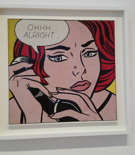 Art Institute, Chicago, art, travel, architecture, Samsung Galaxy, Roy Lichtenstein