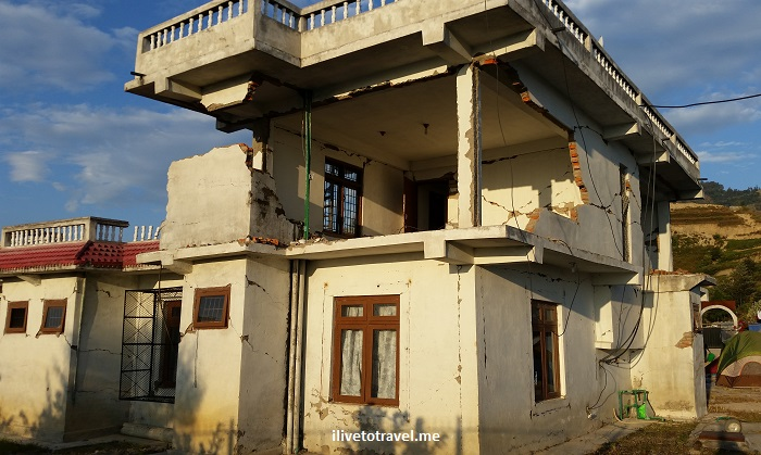 Nepal, earthquake, damage, Kumari, medical clinic, Nuwakot