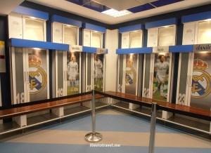 Bernabeu, Madrid, museum, museo, Real Madrid, tour, Spain, tourism, travel, photo, Olympus, locker room