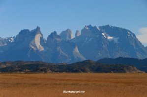 The Torres del Paine massif