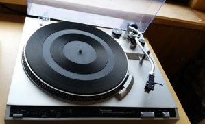 Technics record player