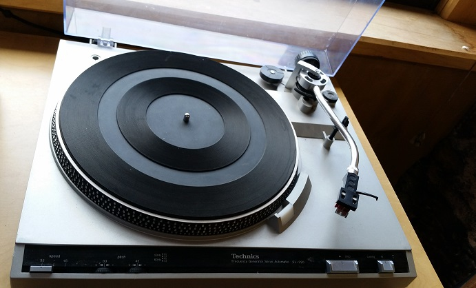 Technics, record, player, technology, vintage